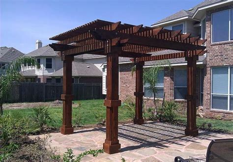 texan pergola custom built western red cedar pergolas