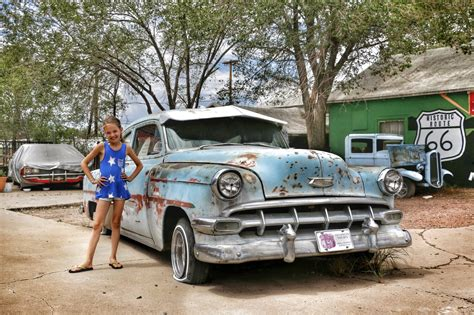 Rute Auto by Reisverslag Route 66 Rondreis West Amerika