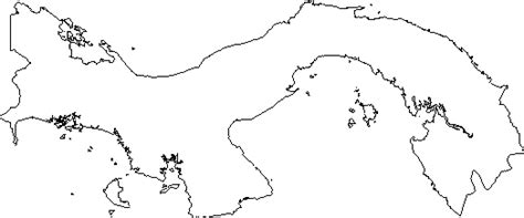 outline map research activity 2 panama my interactive image thinglink
