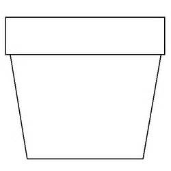 coloring page flower pot diy mini flower garden pots colors libraries and end of