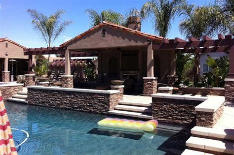 Backyard Cabanas by Pool Cabana Backyard Realm