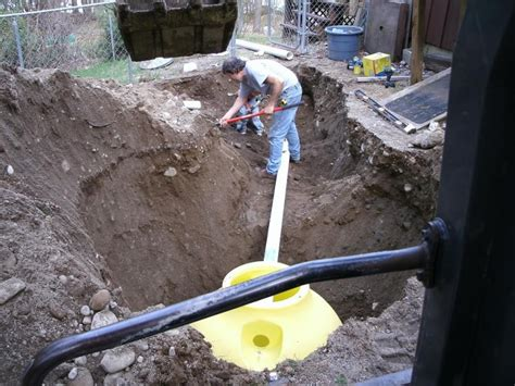 Plumbing Septic Tank by Plastic Septic Tanks Excavation Site Work Contractor
