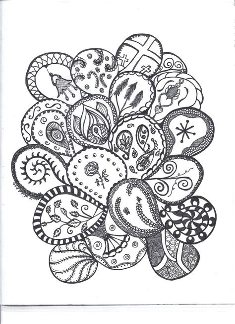 easy paisley coloring pages 1000 images about doodles paisley zentangle on pinterest