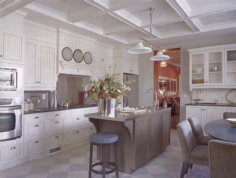 beadboard kitchen ceiling beadboard ceilings beams