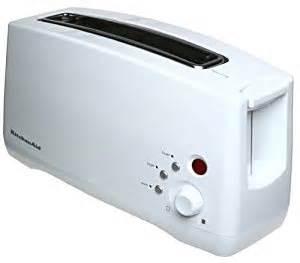 Single Slot Toasters Amazon Com Kitchenaid Ktt460wh 2 Slice Single Slot