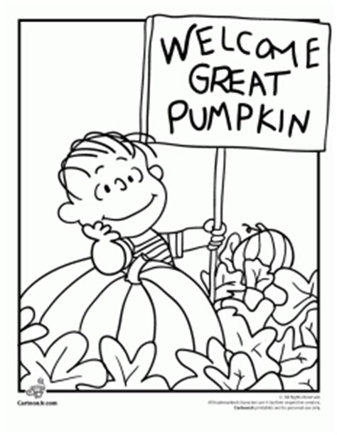 great sheets it s the great pumpkin brown coloring pages woo