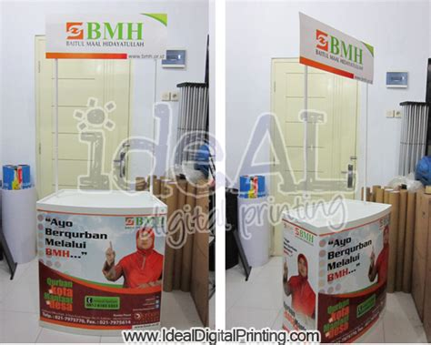 Event Desk Besi ideal printing