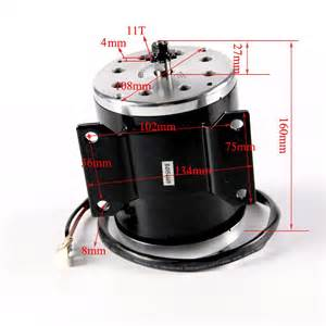 electric motor specs high performance 800w 36v electric motor for scooter