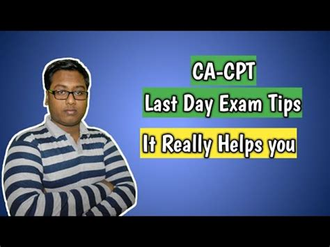 Mba Cpt From Day 1 by Cpt Last Day Tips