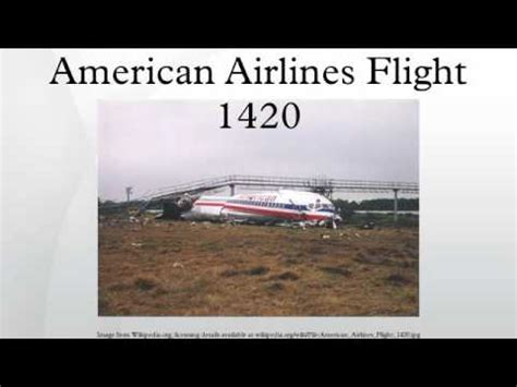 american airlines flight american airlines flight 1420 youtube