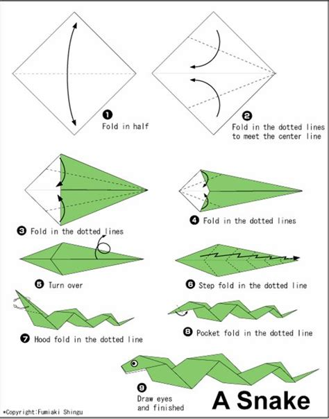 Information About Origami - how to make cool origami animals found here info