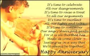 wedding anniversary messages from to husband anniversary quotes for husband quotesgram