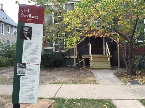carl sandburg house poet carl sandburg s old house being renovated for a new era everyblock chicago