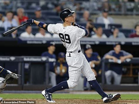 from 179 to the all the climb of aaron judge