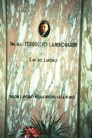 Lamborghini Death by Ferruccio Lamborghini 1916 1993 Find A Grave Memorial