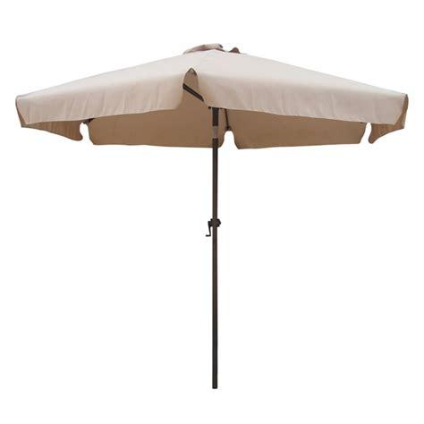 8 Patio Umbrella 8 Tilt Crank Patio Umbrella In Khaki 60403 2 5m Kh