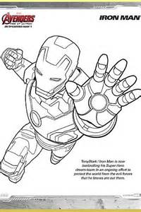 free coloring pages avengers team
