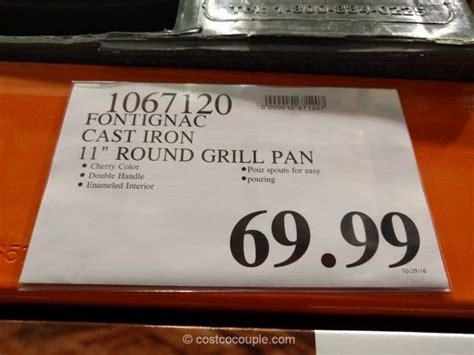fontignac enamel cast iron fry pan