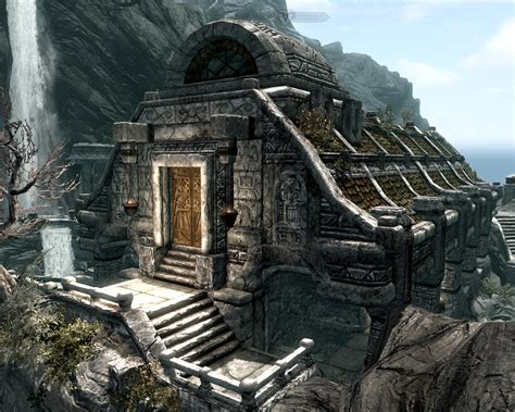 temple of dibella the of architecture skyrim architecture markarth