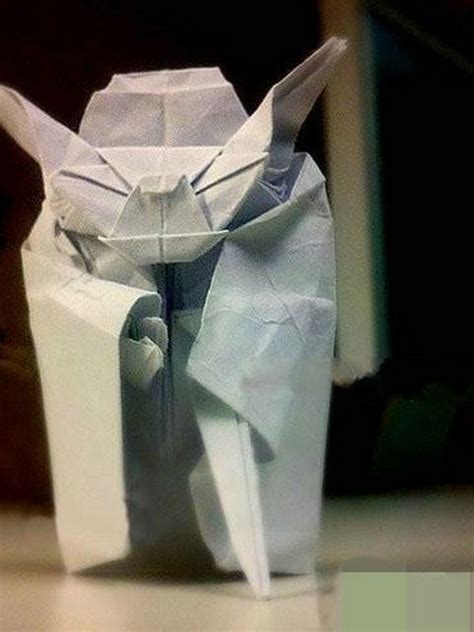 Origami Yoda Finger Puppet - origami yoda how to make origami yoda how to