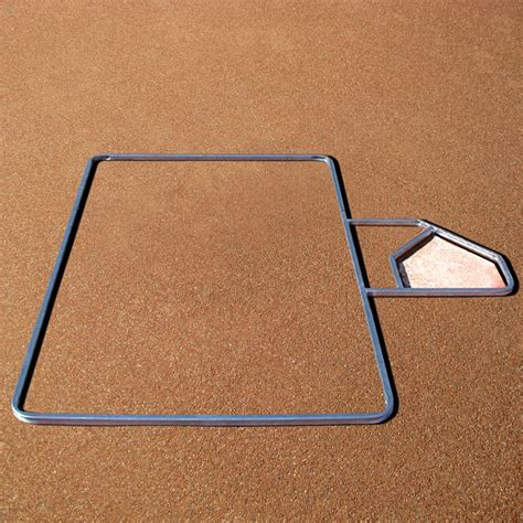 standard 3 x 7 softball batter s box template sports