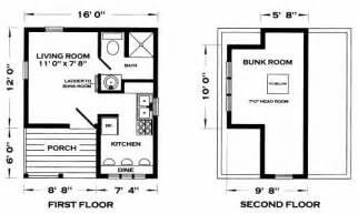 Tiny Cottages Floor Plans Tiny House Plans House Interior Designs
