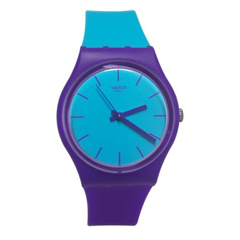 Swatch 1 Purple swatch gv128 mixed up blue analog purple silicone