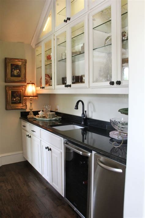 mix match family show tuesday favorite room butlers pantry extra sink mini fridge ice maker china seasonal dishe