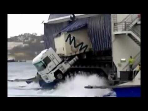 boat parking fails ferry boat truck parking fail youtube