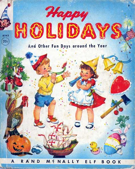 neato coolville vintage happy holidays books