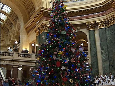 atheists angry after wis gov changes holiday tree back