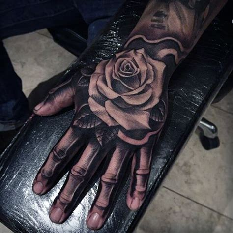 hand bone tattoo 25 awesome skeleton tattoos