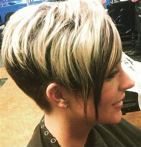 hoghlights lowlights blonde pixie 25 cool short haircuts for women short hairstyles 2017