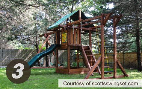 kids creations swing set swing set installation services