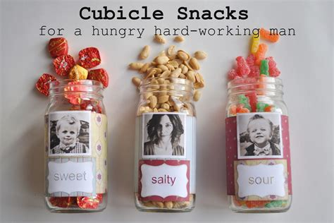 snacks for gifts diy cubicle snacks for your