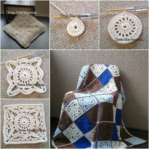 Crochet Motif Patterns Images crochet square motif pattern www imgkid the image