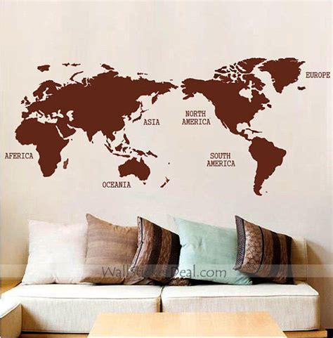 Wallstiker 5d world map wall sticker by amandabetty on deviantart