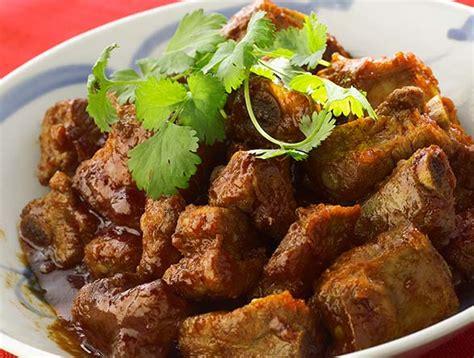 recette cuisine r騏nionnaise recette r 233 union civet de porc aux patoles