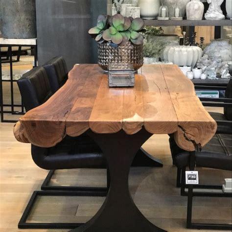 table acacia pour salle  manger decorelie de lart