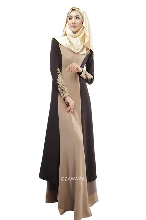 Longdress Arab simple look dress for muslim hijabiworld