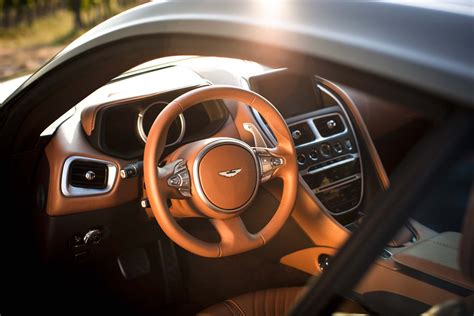 aston martin steering wheel 2017 aston martin db11 first drive automobile magazine