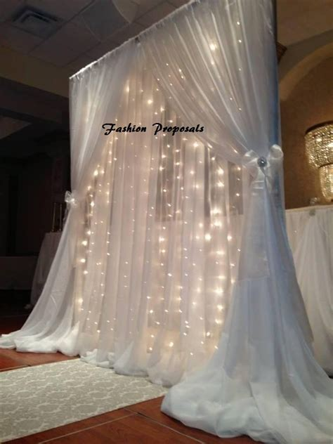 Led Backdrop Lights. Led Backdrops Drapes With Voile