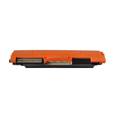 Hp 126a Black Original Laserjet Toner Cartridge Ce310a 1 new compatible hp ce310a toner cartridge black hp 126a