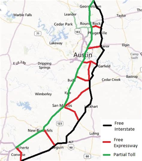 texas toll map don t most austinites oppose toll roads drive worth texas tx page 12 city data forum