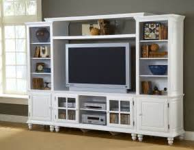 Ikea White Bookcase With Glass Doors Hillsdale Grand Bay Entertainment Large Wall Unit