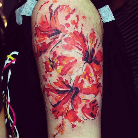 hibiscus tattoo 75 best hibiscus flower meaning designs of