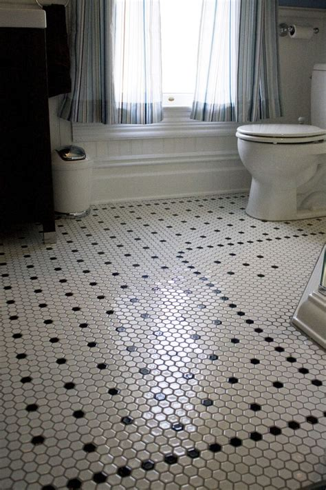 Hexagon Tile Bathroom Floor hexagon tiles bathroom