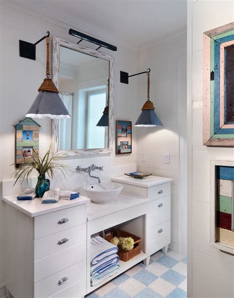 beach bathroom lighting beach house bathroom lighting thedancingparent com