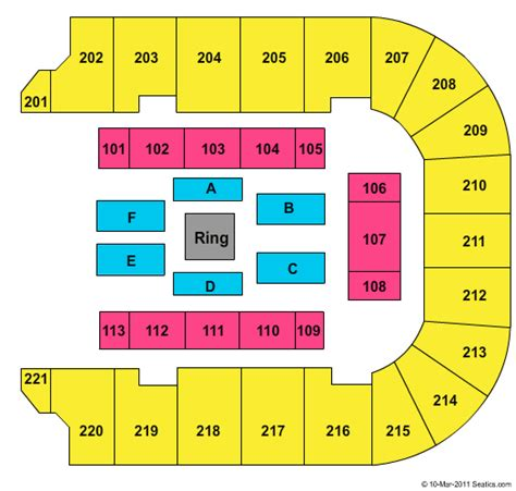 bancorpsouth arena seating map new style bancorpsouth arena