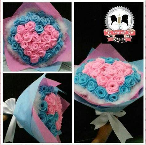 tutorial bunga flanel buket jual flower hand bouquet buket bucket bunga mawar flanel